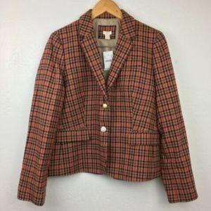 NEW New J. Crew Wool School Boy Blazer $280